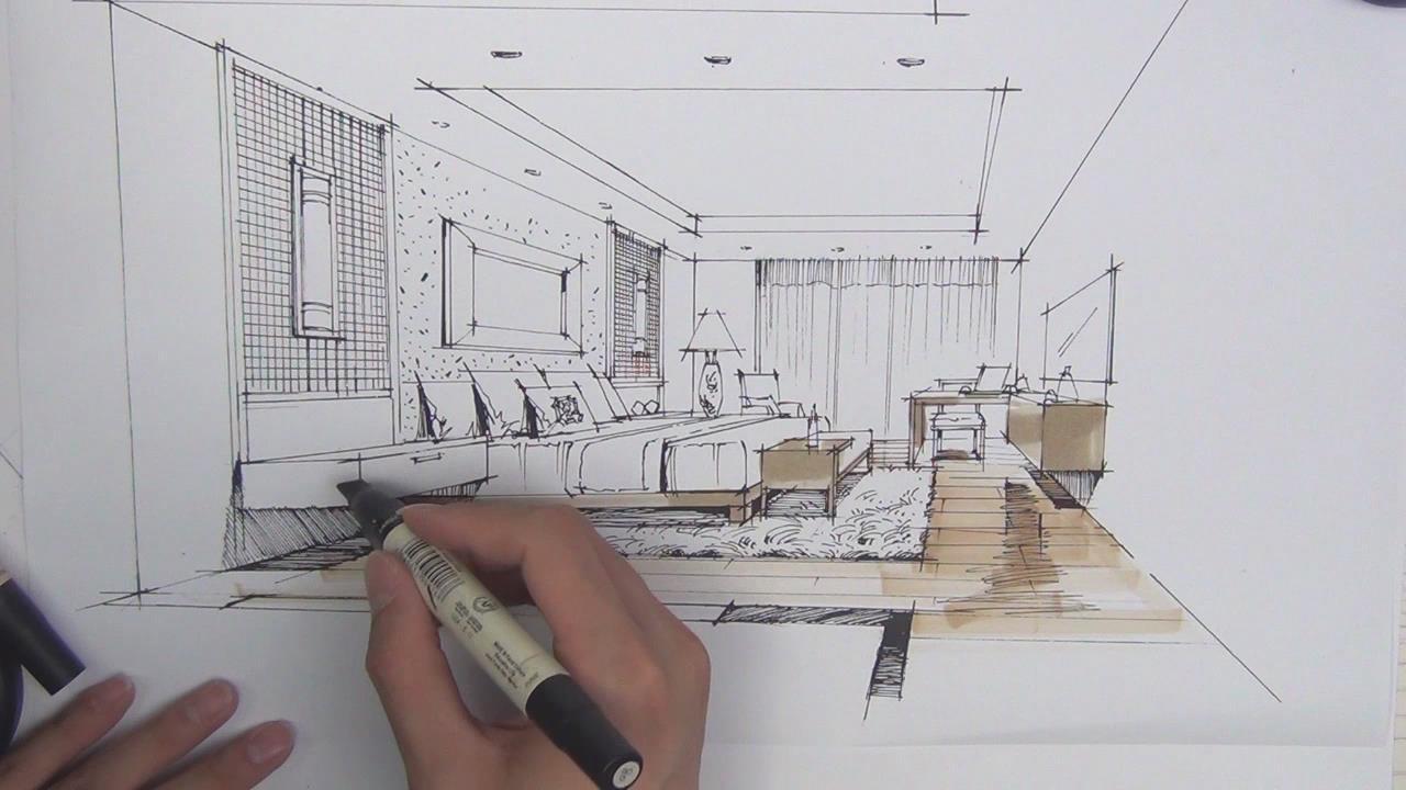 室内设计手绘全面教程高级篇