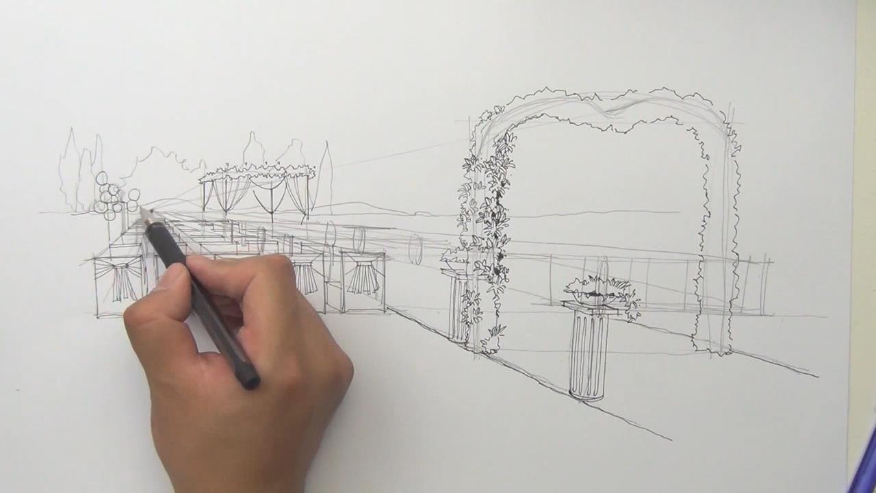 婚礼现场设计手绘教程