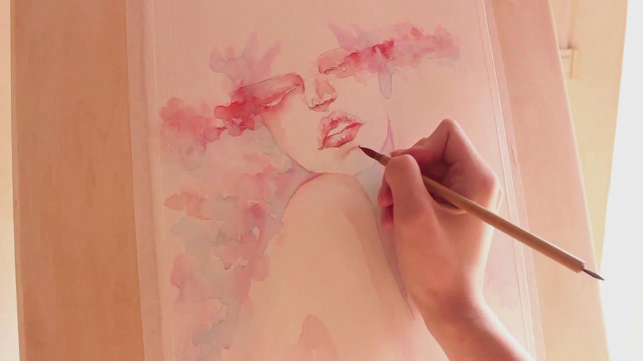 人物水彩画自学教程