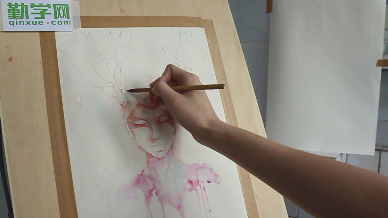 人物水彩畫自學教程圖片