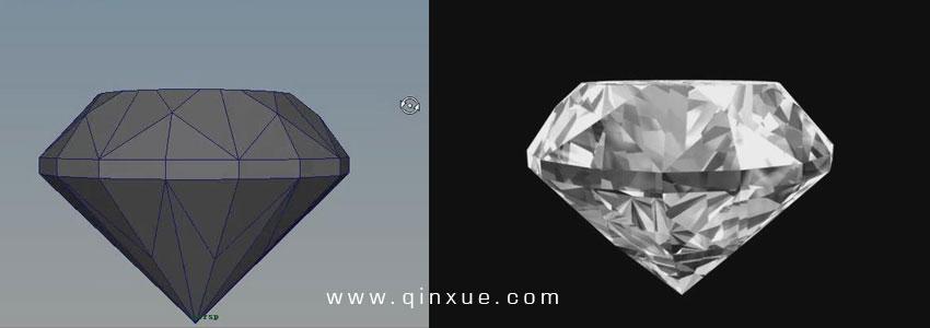 钻石简笔画教程
